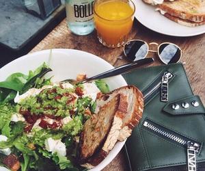 food, salad, and drink image