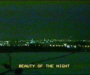 grunge, night, and beauty image