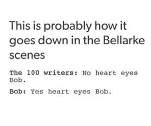 100, the, and bellarke image