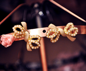 beautiful, bows, and earrings image
