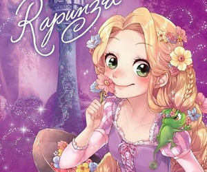 rapunzel and disney image