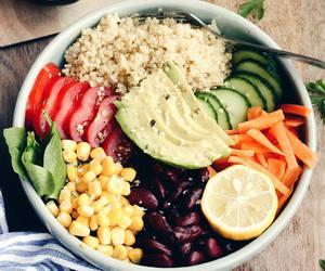 food, healthy, and veggies image