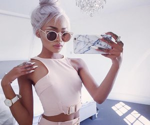 mode, summer, and sunglasses image