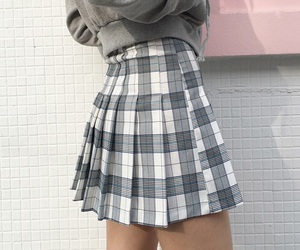 skirt, style, and grunge image