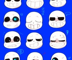 sans, undertale, and underfell image