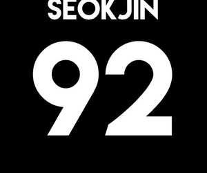 bangtan boys, kim seokjin, and bts jin image