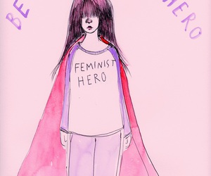 quotes, hero, and feminist image