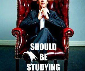 benedict cumberbatch and study image