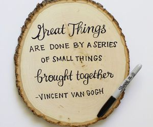 quotes, vincent van gogh, and inspiration image