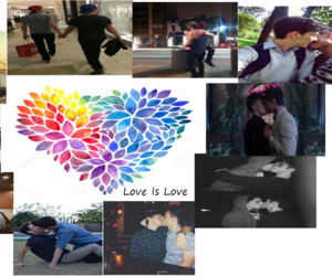 gay, loveislove, and love image