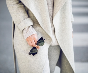 blonde, grey, and style image