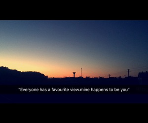 quotes, sunset, and view image