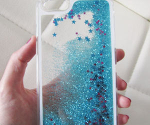 case, glitter, and iphone image