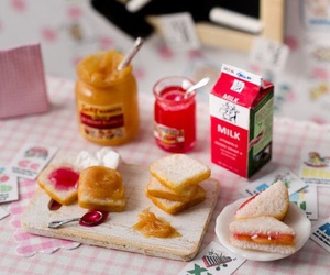 dolls, food, and miniatures image