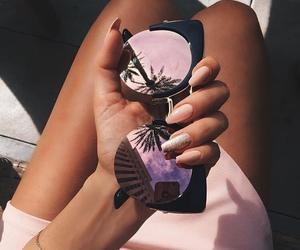 bracelets, sun, and fashion image