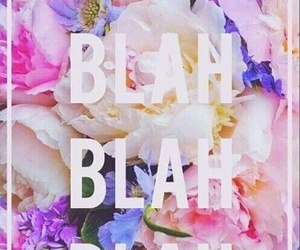 wallpaper, blah, and flowers image