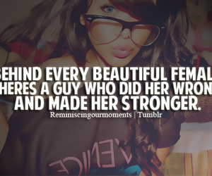beautiful, quotes, and Stronger image