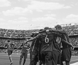 b&w, Barca, and Barcelona image