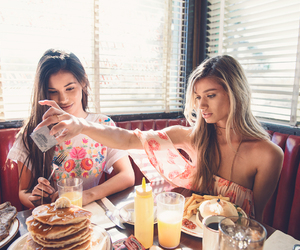 breakfast, friendship, and style image