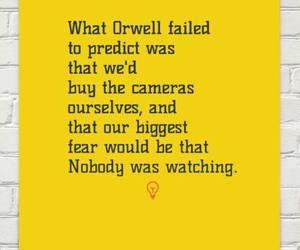 1984, George Orwell, and media image