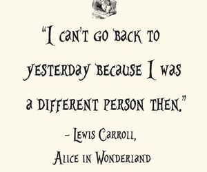 alice, alice in wonderland, and yesterday image