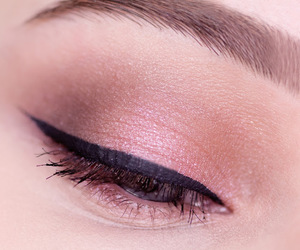 cosmetics, eye, and eyeliner image