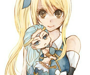 fairy tail, lucy heartfilia, and aquarius image
