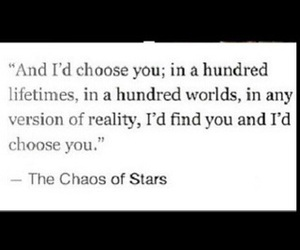 forever, him, and chaos of stars image