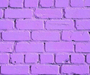 wallpaper, pink, and brick image
