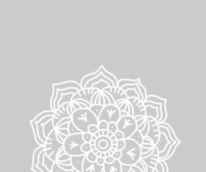background, mandala, and flower image