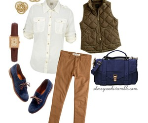 boat, forest green, and Polyvore image