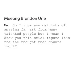 brendon urie, emo, and funny image