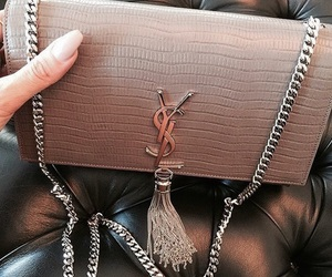 bags, Yves Saint Laurent, and fashion image