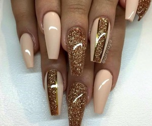 nails, coffin, and gold image