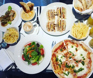 food, istanbul, and pizza image