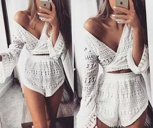 fashion, beautiful, and white image