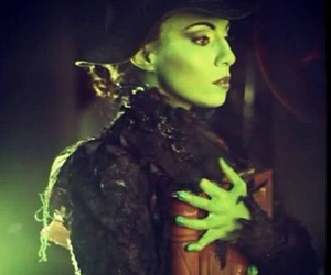 wicked, elphaba, and anaceci image