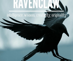 ravenclaw, harry potter, and raven image