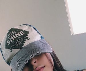 girl, cap, and tumblr image