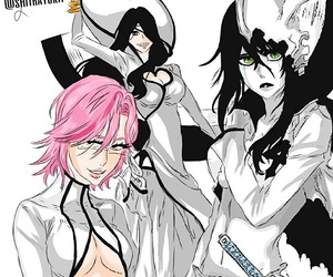 bleach, nnoitra, and genderbend image