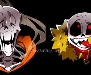 papyrus, sans, and underfell image