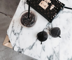 bag and sunglasses image