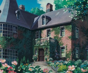 anime, house, and studio ghibli image