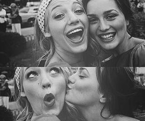 blake lively, leighton meester, and gossip girl image
