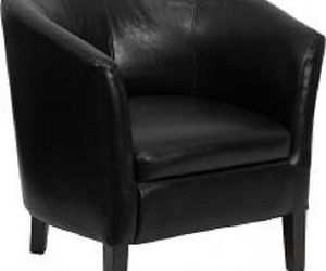chairs, ebay, and leather chair image