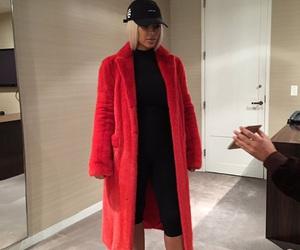 kim kardashian, red, and kim image