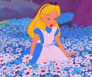disney, alice, and wallpaper image