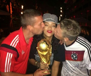 rihanna, germany, and world cup image