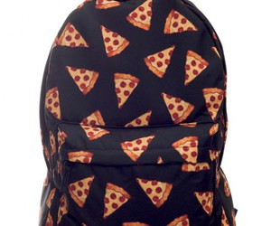 pizza, pizza bag, and pizza backpack image
