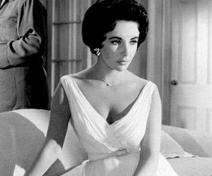 Elizabeth Taylor, Cat on a Hot Tin Roof, and paul newman image